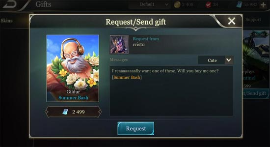 send gift request Most of the time the gifts available to send are you can add army members without sending a request by using the following link castle age wiki is a.